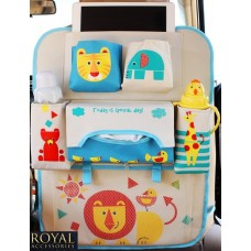 Защиты от ног спинки сиденья с органайзером - Royal Accessories - Multi - Lion (лев)