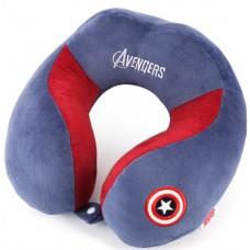 Подушка - подголовник - Супергерои - для детей (Капитан Америка)